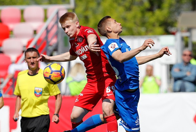 Spartak Moscow youth squad: defeat in Sokolniki