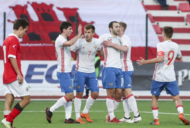 Spartak Moscow players took part in the victorious game against Granada