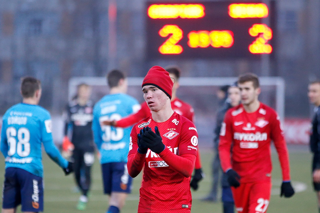 Spartak (youth) – Zenit (youth) – 2:2