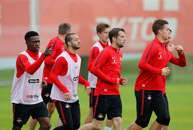 Spartak Moscow has started preparing for the game against Dinamo