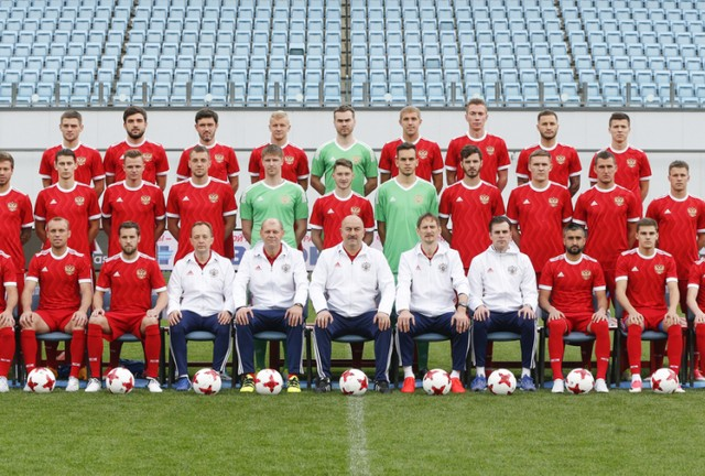 Spartak Moscow players in the extended Team Russia list